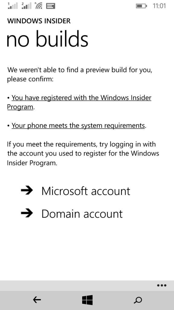 Banyak Pengguna Lumia 730 Indonesia Gagal Mendapatkan Update Windows 10 Preview