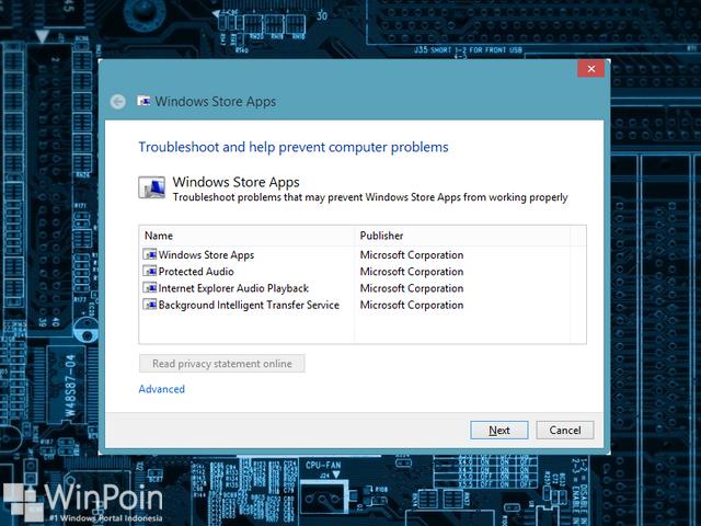 Cara Memperbaiki Windows Store yang Tidak Mau Terbuka