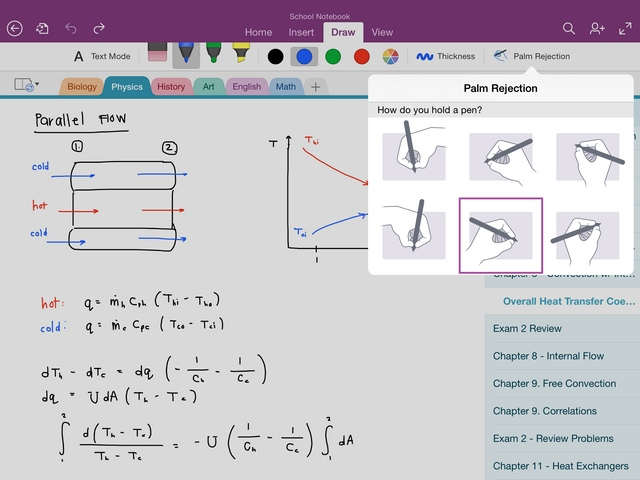 OneNote di iPad Kini Jadi Keren, Support Handwriting untuk Menulis dengan Stylus!