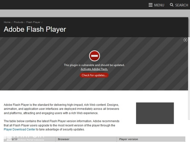 Uninstall atau Mematikan Plugin Akan Membuat Browser Kamu Semakin Aman