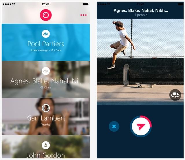 Microsoft Mengupdate Skype Qik untuk Android dan iPhone, Windows Phone Sabar Dulu