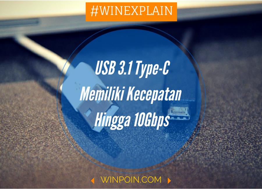 Apa itu USB 3.1 Type-C — dan Kenapa Kamu Harus Tahu
