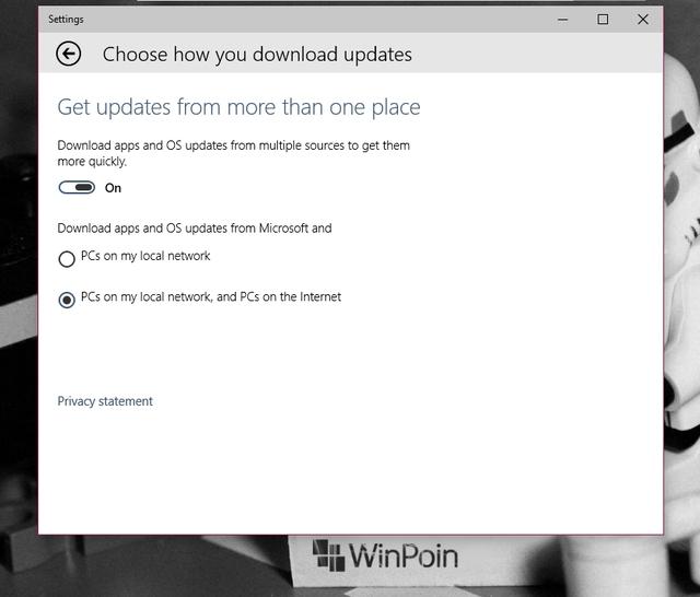 Update Windows 10 Bisa Didownload Lebih Cepat via P2P dan Local Network