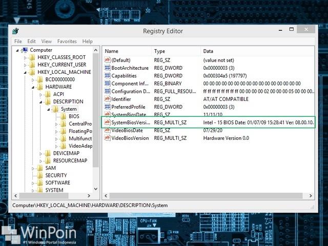 Cara Mengetahui Versi BIOS Tanpa Memasuki BIOS