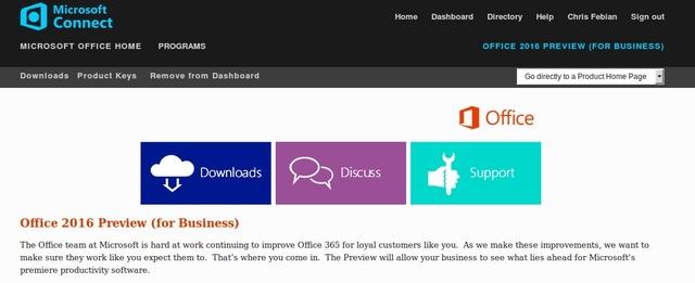 Office 2016 Preview Sudah Bisa Didownload oleh IT Pro dan Developer