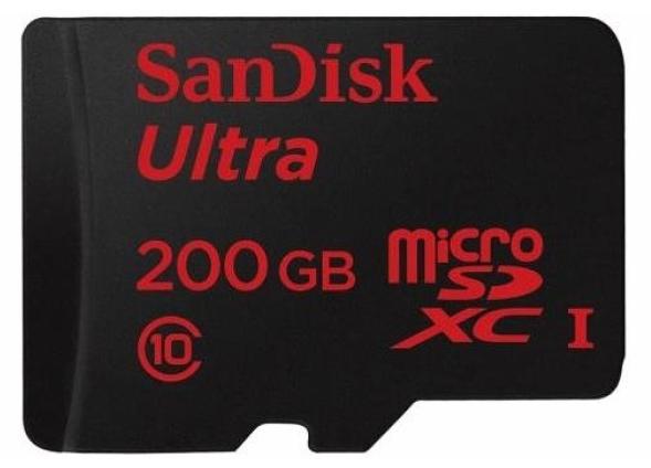 SanDisk Memecahkan Rekor dengan Merilis microSD Berkapasitas 200 GB!