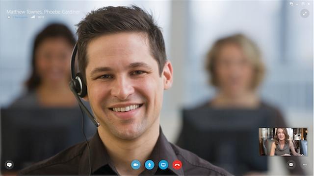 Seperti Inilah Tampilan Skype for Business