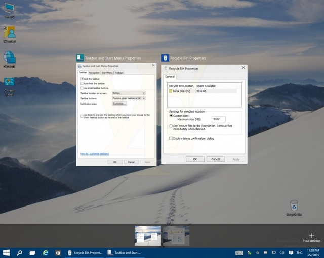 Ada Perubahan di Fitur Virtual Desktop Windows 10 Build Selanjutnya