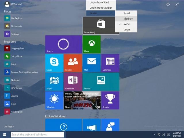 Tampilan Windows 10 Build 10031 Bermunculan Lagi — Kini Lebih Lengkap dan Detail