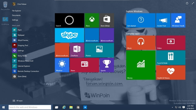 File ISO Windows 10 Build 10041 Sudah Dirilis — Download Disini