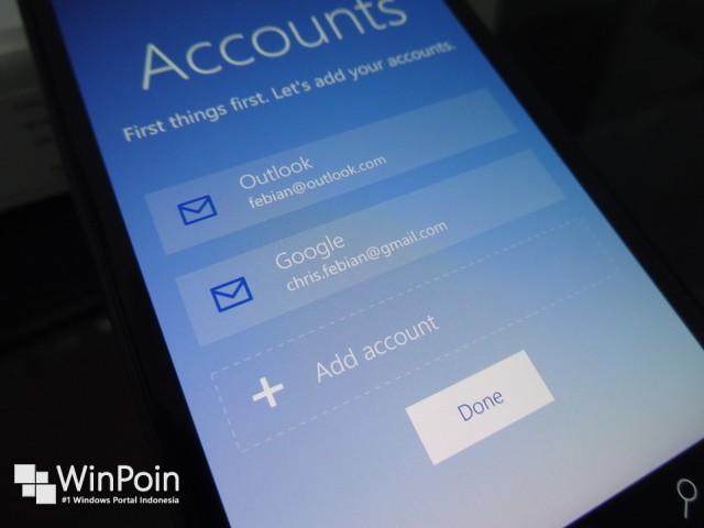 Inilah Aplikasi Mail Baru di Windows 10 Smartphone — Mail Client Mobile Terbaik yang Pernah Saya Gunakan