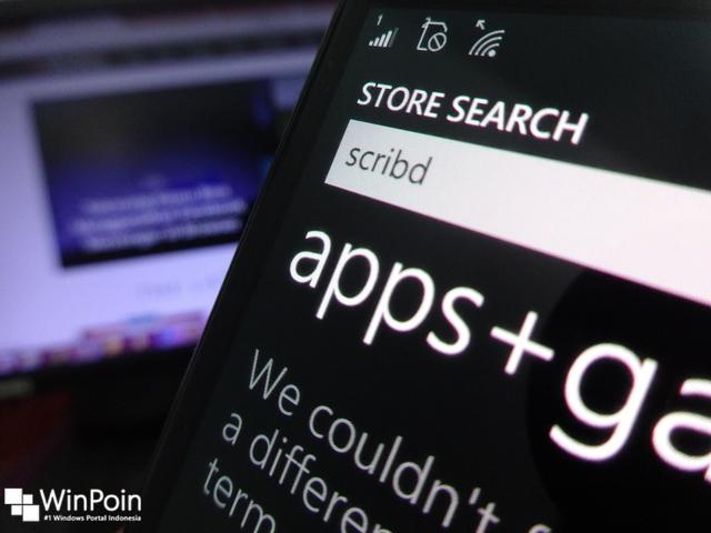 Scribd Meninggalkan Windows dan Windows Phone — Apps Official Ditarik dari Store