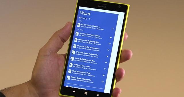 Seperti Inilah Office Universal Apps untuk Windows 10 Smartphone yang Dirilis Akhir Bulan Nanti