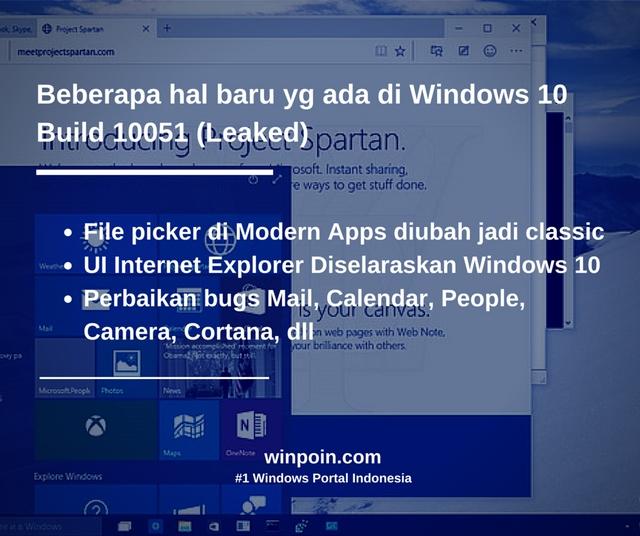 Inilah Tampilan dan Fitur Windows 10 Build 10051 (Leaked)