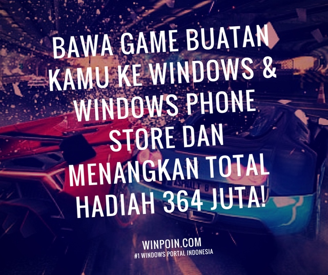 Yuk, Ikuti Windows Game Developer Contest