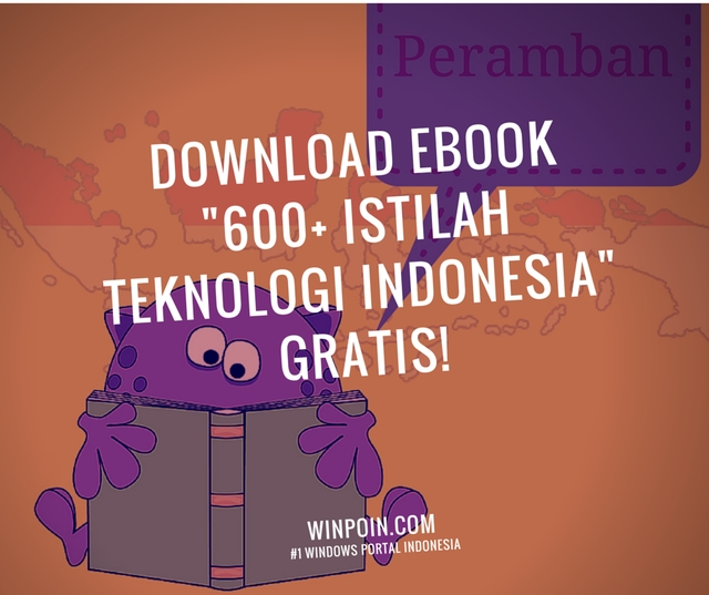 "Download ""600+ Istilah Teknologi Indonesia"" — Ebook WinPoin Edisi #1"