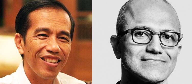 Jokowi dan Satya Nadella Masuk 100 Orang Paling Berpengaruh 2015 di Dunia versi TIME