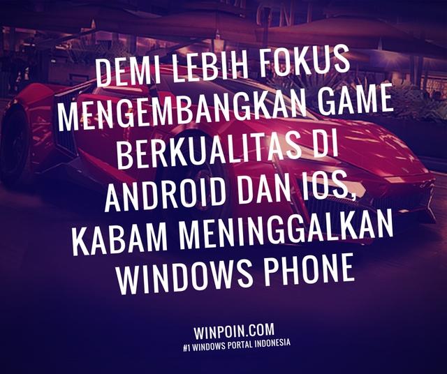 Developer Game Populer Kabam Meninggalkan Windows Phone demi Android dan iOS
