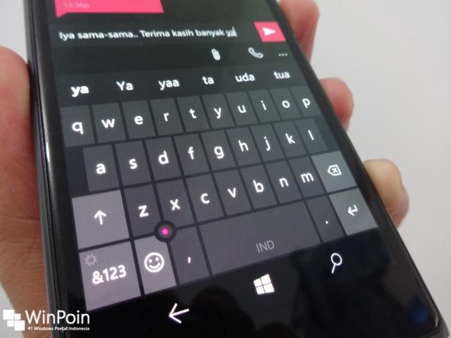 5 Alasan Kenapa Keyboard Windows 10 Smartphone Itu Keren!
