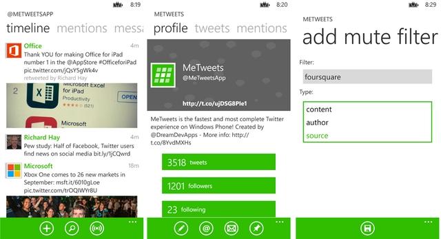 Twitter Client Populer – MeTweets Gratis Untuk Waktu Terbatas