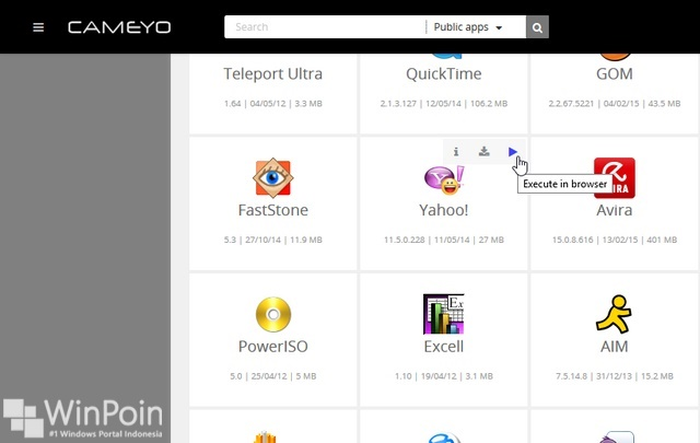 Review Cameyo - Jalankan Aplikasi Desktop di Browser