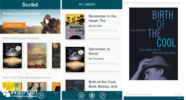 Scribd Meninggalkan Windows dan Windows Phone — Apps Official Ditarik dari Store