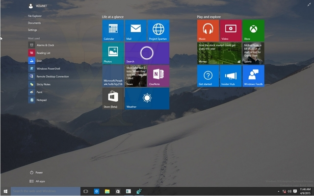 ISO Windows 10 Build 10056 Bocor ke Internet