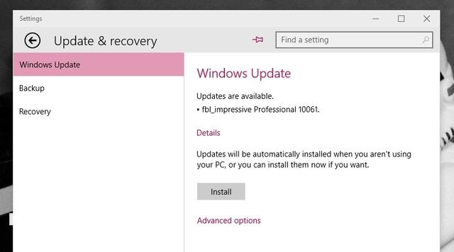 Windows 10 Build 10061 Dirilis, Ayo Download!