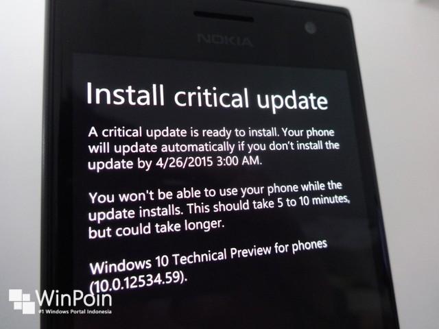 Windows 10 Smartphone Build 10052 Dirilis, Kamu Bisa Download Sekarang