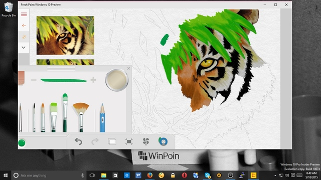 Fresh Paint Preview untuk Windows 10 Dirilis, Download Disini