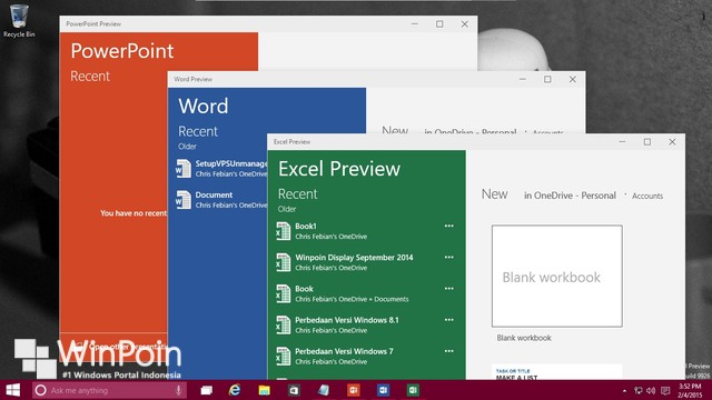 Office 2016 Preview Sudah Dirilis, Download Disini