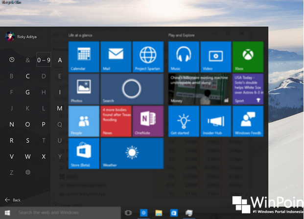 Download Windows 10 Insider Preview Build 10130 Stabil Edition