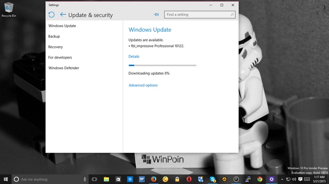 Windows 10 Build 10122 Dirilis, Download Sekarang