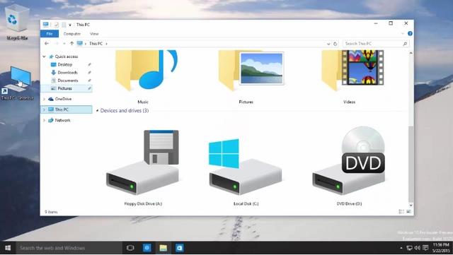 Windows 10 Build 10125 Terlihat Lebih Cantik dengan Icon Baru dan Peningkatan UI Lainnya