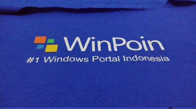 Progress Report: Sneak Peek Logo Biner di Kaos WinPoin (yang Hampir Selesai)