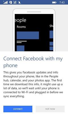 Menghubungkan Kembali Facebook