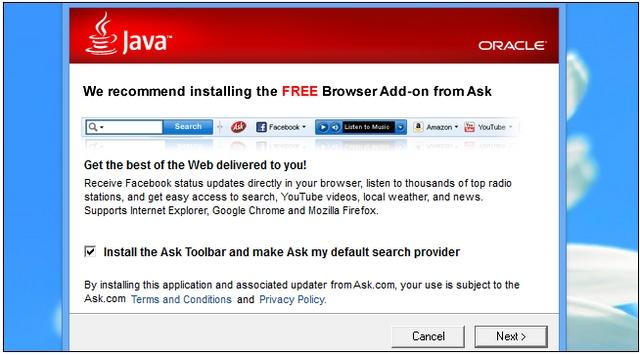 Ya, Windows Akhirnya Tahu Kalau Ask Toolbar Adalah Malware!