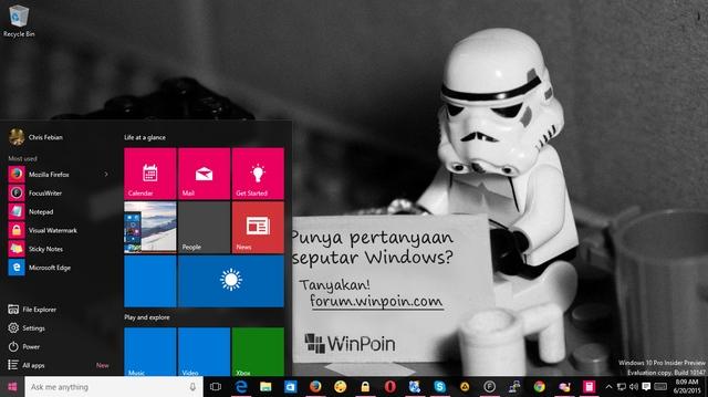 Beberapa Permasalahan yang Masih Ada di Windows 10 Preview Build 10147