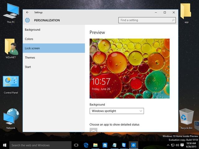 Yuk Ngintip Tampilan Windows 10 Build 10154 (Leaked)