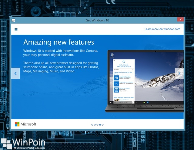 Cara Memesan atau Menghilangkan Nofitikasi Free Get Upgrade Windows 10