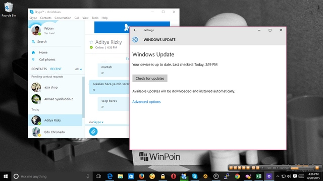 Insider, Windows 10 Kamu Harus Terhubung dengan Microsoft Account Jika Ingin Dapat Build Baru
