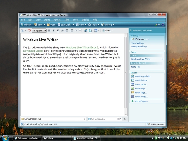 Windows Live Writer Segera Dijadikan Open Source?
