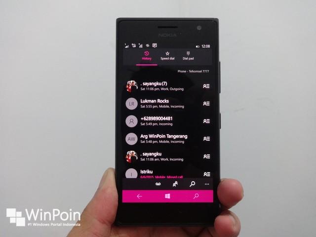 Pengalaman Saya Menggunakan Windows 10 Mobile Build 10149 di Lumia 730