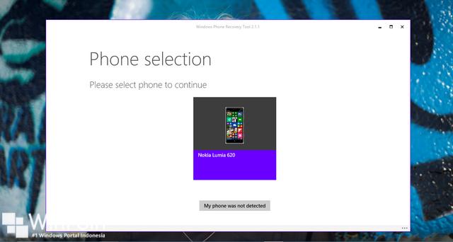 Cara Roll Back dari Windows 10 Mobile Preview ke Windows Phone 8.1