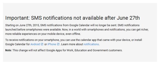 Google Mulai Meninggalkan SMS dengan Mematikan Fitur Notifikasi SMS