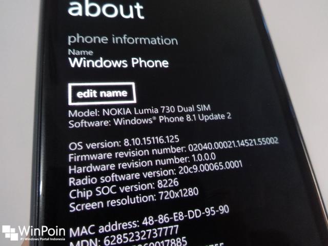 Beberapa Lumia 735 dan Lumia 830 Memperoleh Windows Phone 8.1 Update 2