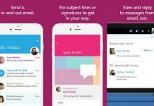 Microsoft merilis aplikasi Send ke iPhone