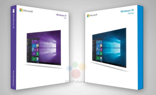 Berbagai Desain Box DVD Windows 10 Sudah Mulai Bermunculan