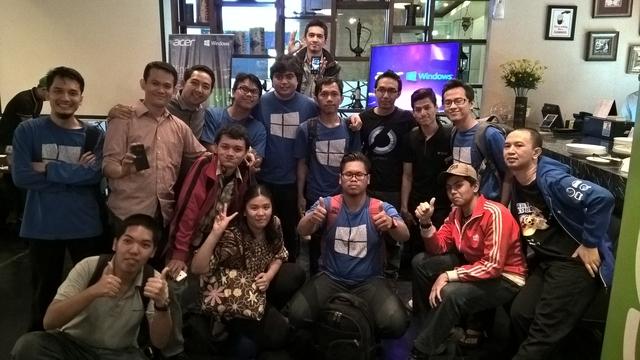 Sepenggal Kisah Buka Bersama Acer, Microsoft, WinPoin, & idWinPhone