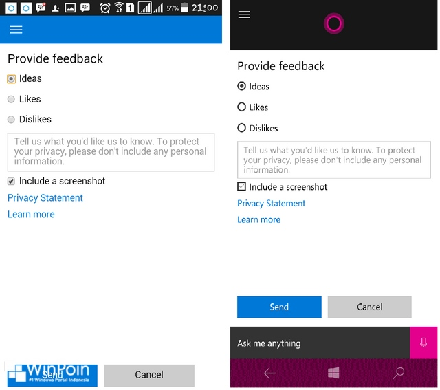 Cortana Android vs Cortana Windows 10 Mobile — Siapa Pemenangnya?